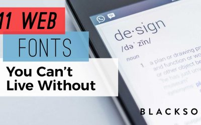 11 WordPress Fonts You Can't Live Without